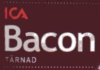 Tärnad bacon